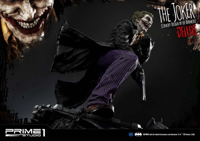 Prime 1 Studio - Batman - Joker by Lee Bermejo - 25