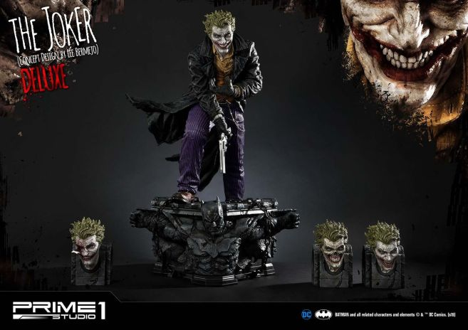 Prime 1 Studio - Batman - Joker by Lee Bermejo - 29