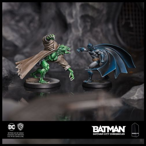 BGCC_PaintedMiniatures_KillerCrocVSBatman