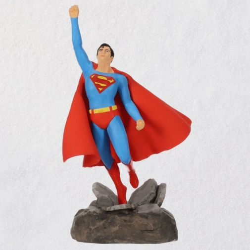Hallmark - Keepsake Ornaments - 2019 - Christopher Reeve as Superman Musical Ornament - 01