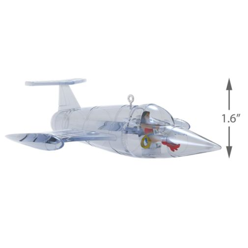 Hallmark - Keepsake Ornaments - 2019 - Wonder Woman Invisible Jet - 03