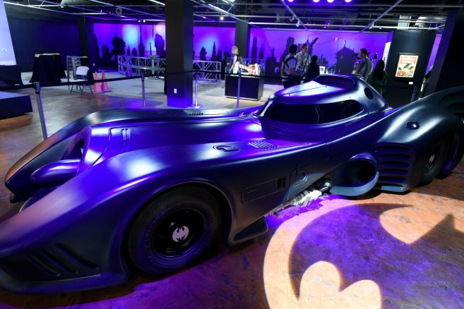 The Batman Experienced Powered By AT&T And Comic-Con Museum Character Hall Of Fame Induction