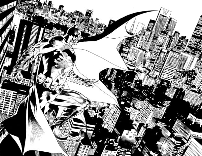 Batmans_Grave_1_inks_Hitch_Nowlan_4-5