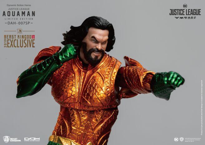 Beast Kingdom - SDCC 2019 Exclusives - DAH-007SP - Justice League Aquaman Comic Color Version - 01