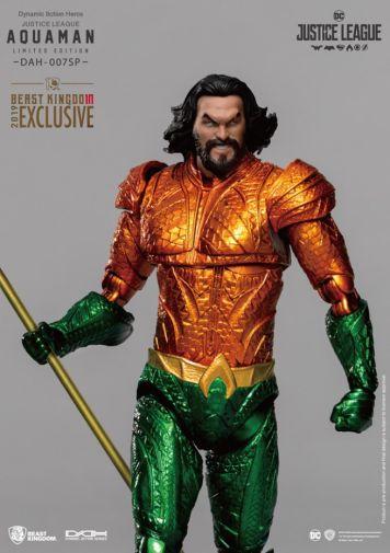 Beast Kingdom - SDCC 2019 Exclusives - DAH-007SP - Justice League Aquaman Comic Color Version - 03