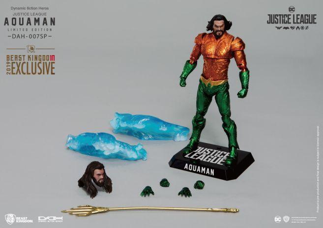 Beast Kingdom - SDCC 2019 Exclusives - DAH-007SP - Justice League Aquaman Comic Color Version - 04