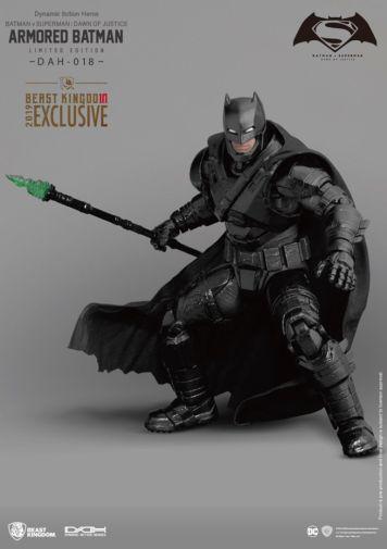 Beast Kingdom - SDCC 2019 Exclusives - DAH-018 - Batman V Superman Dawn of Justice Armored Batman - 04