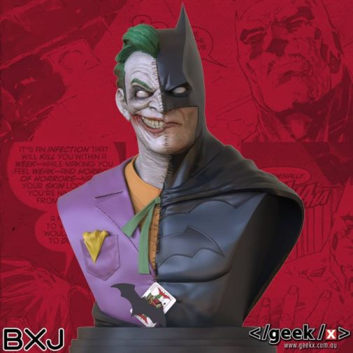 Geek X - Batman - BXJ Bust - 01