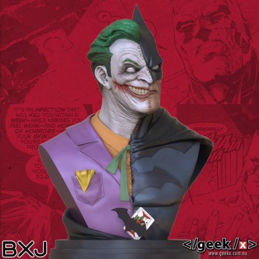 Geek X - Batman - BXJ Bust - 04