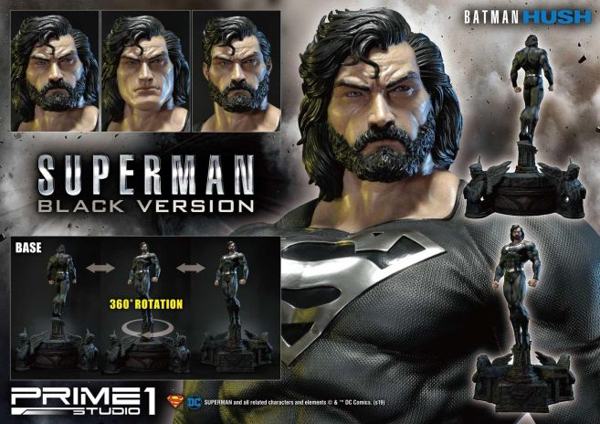 Prime 1 Studio - Superman - Black Version Superman - 03