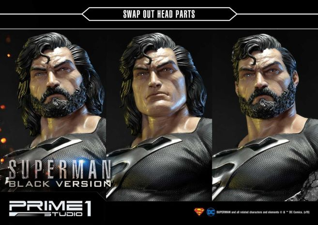 Prime 1 Studio - Superman - Black Version Superman - 04