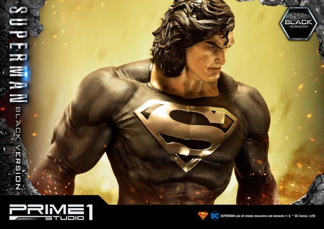 Prime 1 Studio - Superman - Black Version Superman - 14
