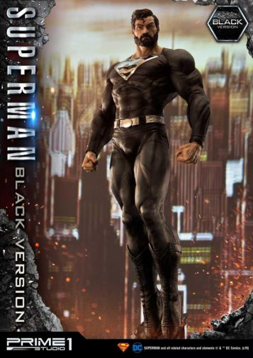 Prime 1 Studio - Superman - Black Version Superman - 16