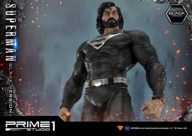 Prime 1 Studio - Superman - Black Version Superman - 24