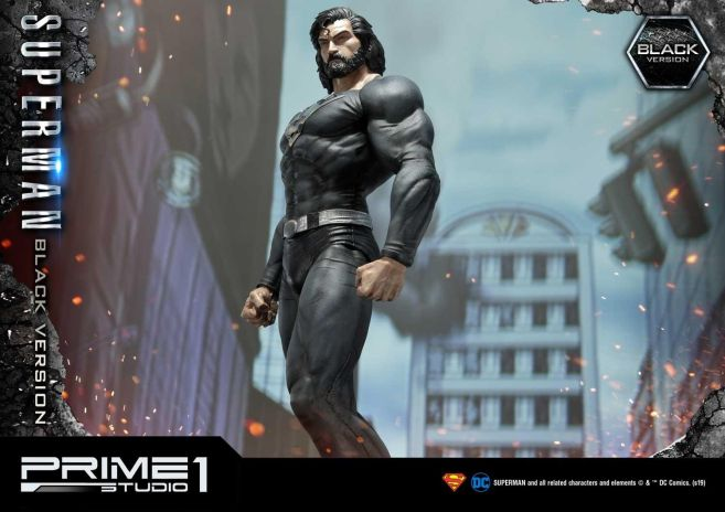 Prime 1 Studio - Superman - Black Version Superman - 39