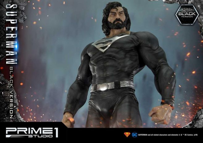 Prime 1 Studio - Superman - Black Version Superman - 42