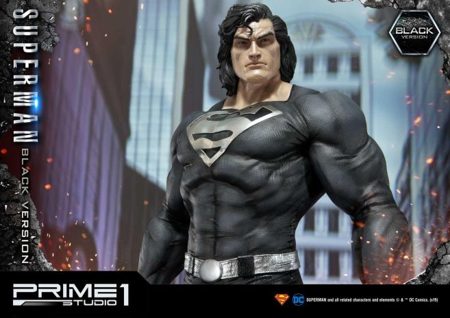 Prime 1 Studio - Superman - Black Version Superman - 43