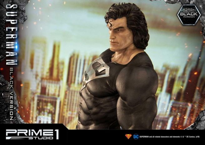 Prime 1 Studio - Superman - Black Version Superman - 45