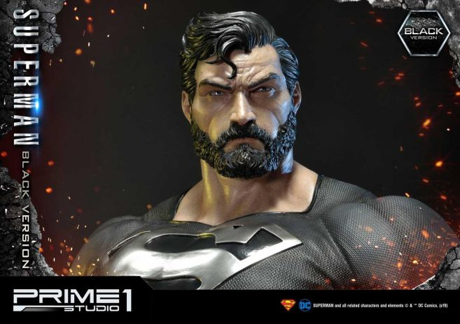 Prime 1 Studio - Superman - Black Version Superman - 49