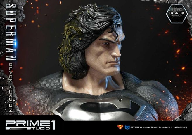 Prime 1 Studio - Superman - Black Version Superman - 53