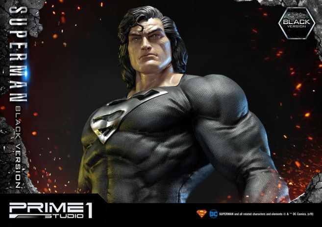 Prime 1 Studio - Superman - Black Version Superman - 65