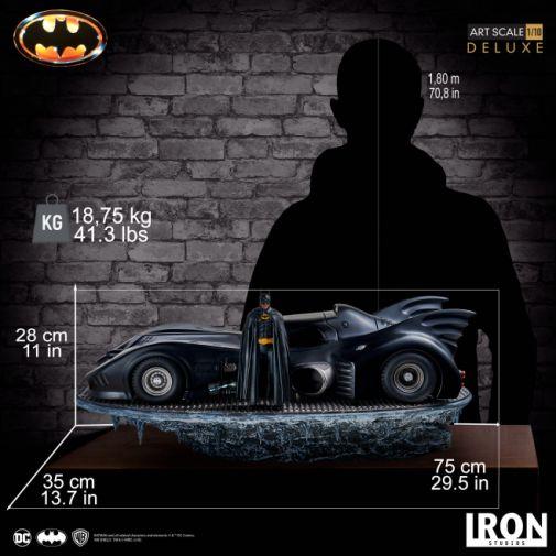 Iron Studios - Batman 1989 - 89 Batmobile - 27