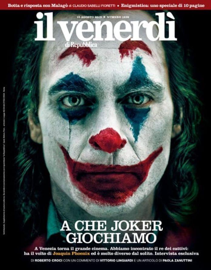 Joker - il venerdi - Magazine Cover - 01