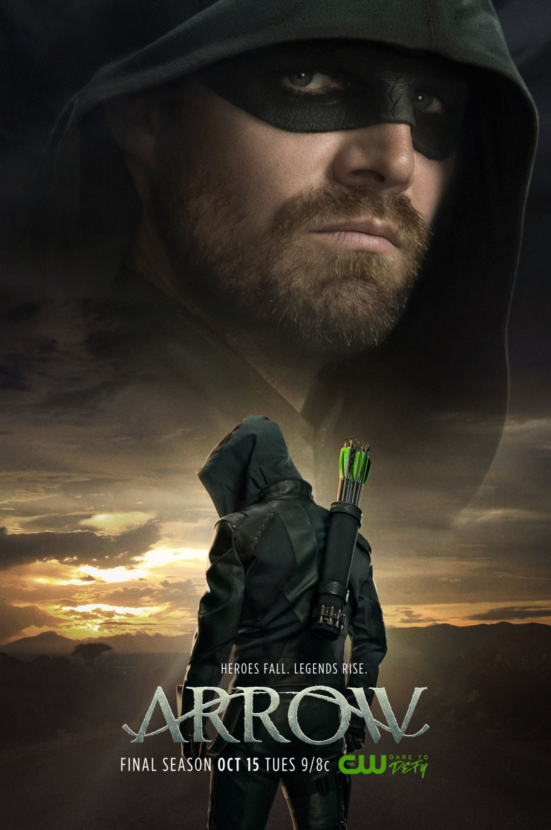 Image result for arrow season 8 poster