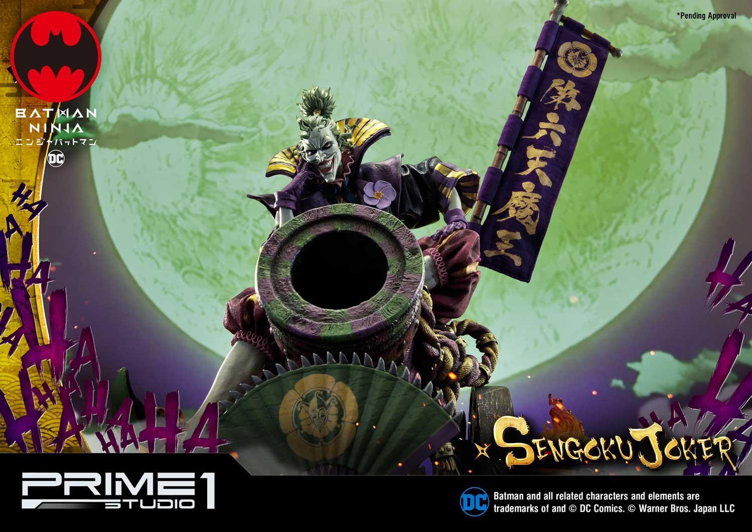 Prime 1 Studio Announces Sengoku Joker Statue Batman News