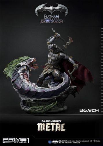 Prime 1 Studio - Batman - Dark Knights Metal - Batman vs Joker Dragon - 07