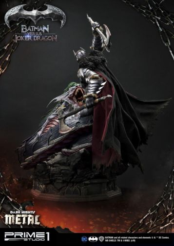 Prime 1 Studio - Batman - Dark Knights Metal - Batman vs Joker Dragon - 09