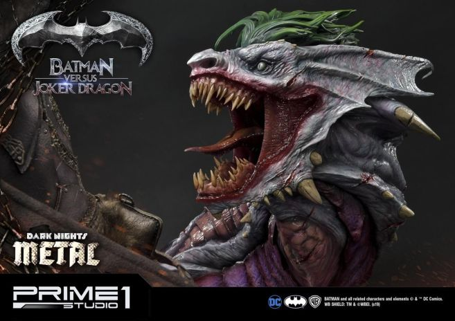 Prime 1 Studio - Batman - Dark Knights Metal - Batman vs Joker Dragon - 18