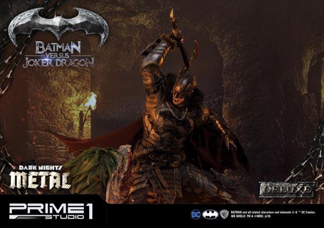Prime 1 Studio - Batman - Dark Knights Metal - Batman vs Joker Dragon - 43