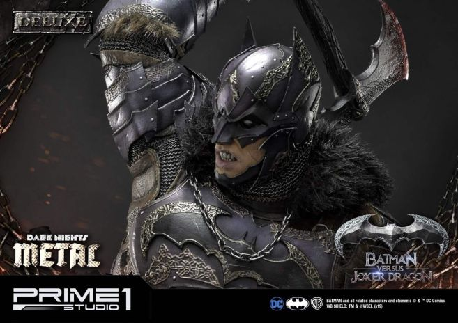 Prime 1 Studio - Batman - Dark Knights Metal - Batman vs Joker Dragon - 52