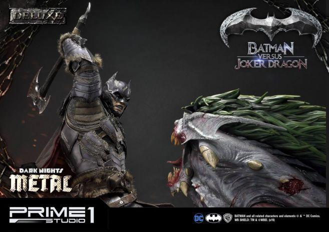 Prime 1 Studio - Batman - Dark Knights Metal - Batman vs Joker Dragon - 56