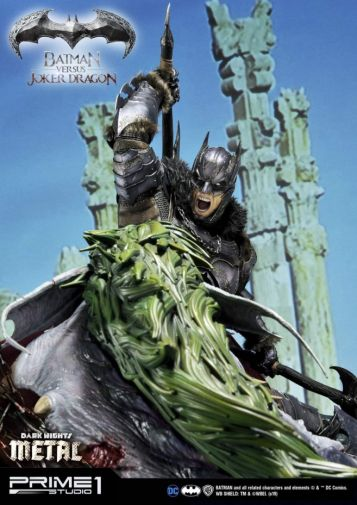 Prime 1 Studio - Batman - Dark Knights Metal - Batman vs Joker Dragon - 61