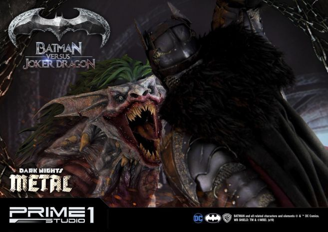 Prime 1 Studio - Batman - Dark Knights Metal - Batman vs Joker Dragon - 65