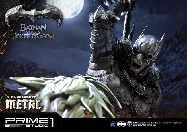 Prime 1 Studio - Batman - Dark Knights Metal - Batman vs Joker Dragon - 66