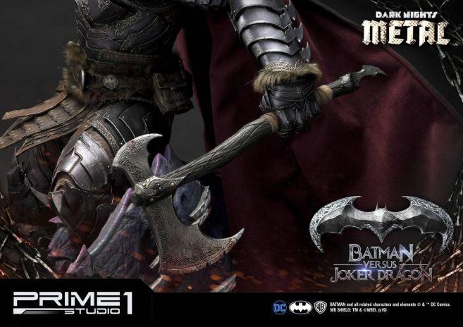 Prime 1 Studio - Batman - Dark Knights Metal - Batman vs Joker Dragon - 80