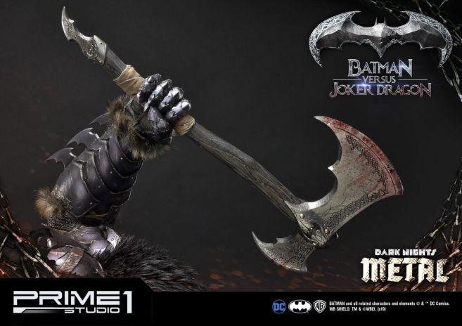 Prime 1 Studio - Batman - Dark Knights Metal - Batman vs Joker Dragon - 81