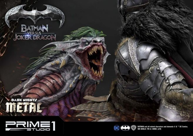 Prime 1 Studio - Batman - Dark Knights Metal - Batman vs Joker Dragon - 88
