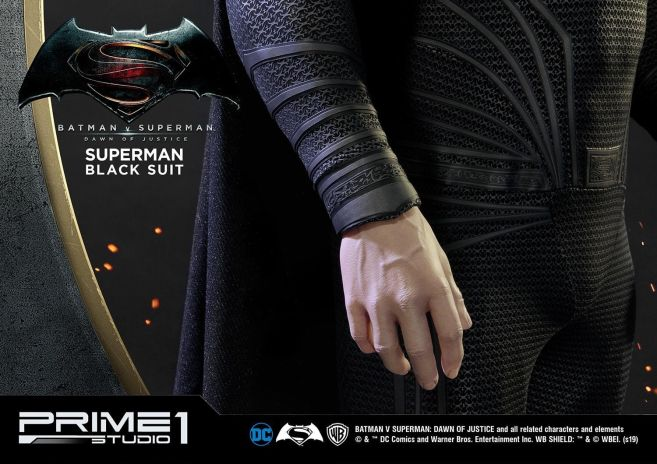 Prime 1 Studio - Superman - Black Suit Superman - 17