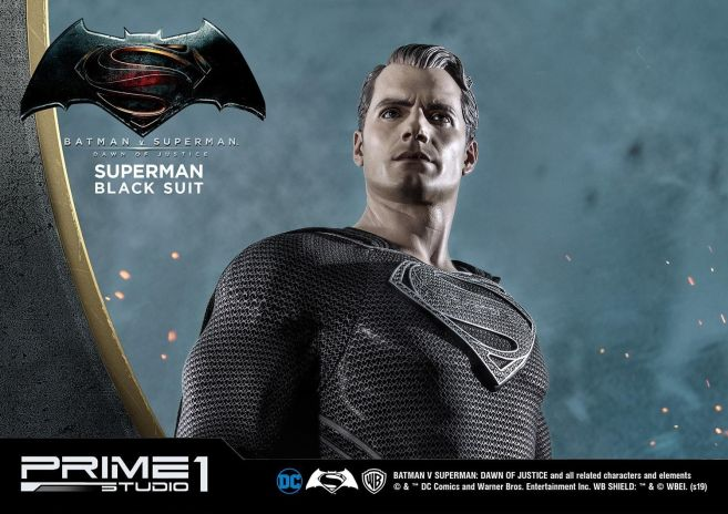 Prime 1 Studio - Superman - Black Suit Superman - 28
