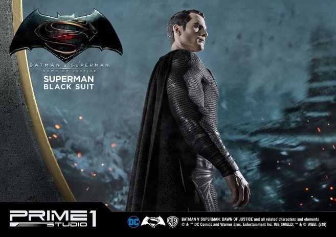 Prime 1 Studio - Superman - Black Suit Superman - 29