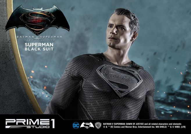 Prime 1 Studio - Superman - Black Suit Superman - 34