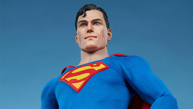 Sideshow - Superman - Sixth Scale Figure - Featured - 01