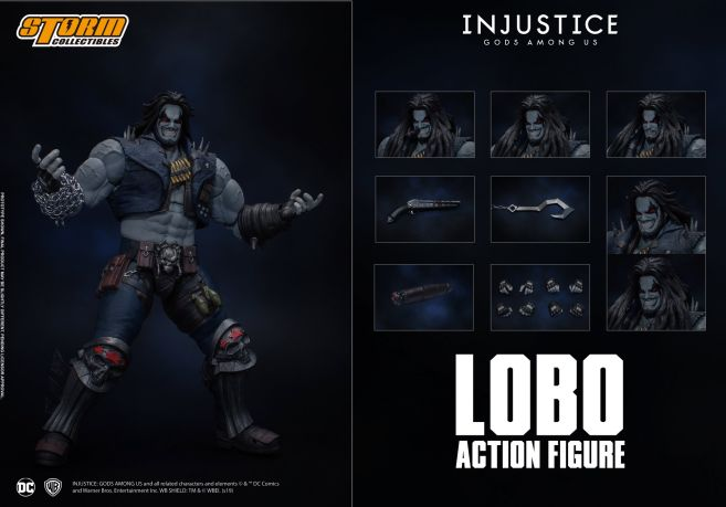 Storm Collectibles - Injustice - Lobo - 14
