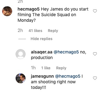 The Suicide Squad - Filming Start - 9-20-19