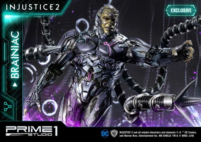Prime 1 Studio - Injustice 2 - Brainiac - 17