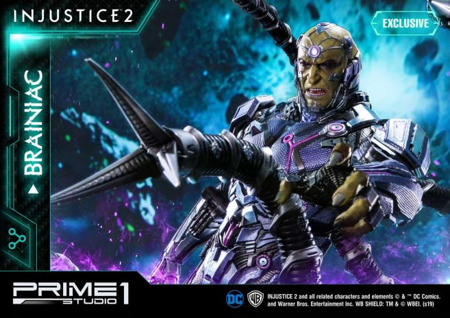 Prime 1 Studio - Injustice 2 - Brainiac - 19